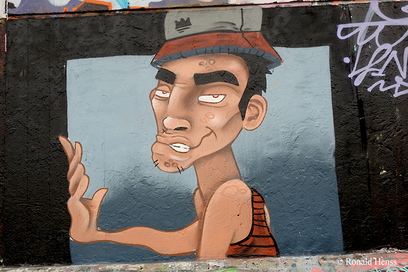 Graffiti in Saarbrücken – Saarbrücker Köpfe