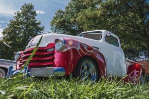 Chevrolet Truck rot weiss