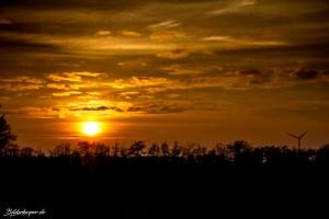 Sonnenuntergang im Tydal