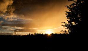 Wolken und Sonnenuntergang Teil2
