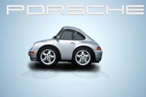 eingelaufener Porsche -Heisswachsbehandlung-