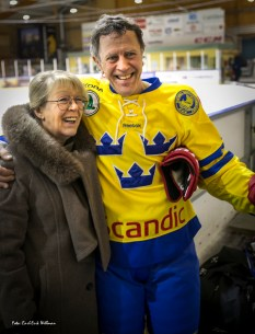 Willy Lindström med syster