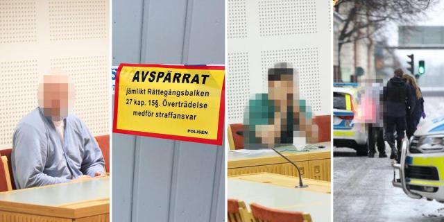På fem månader har fyra kvinnor mördats i Gävle kommun. I ett av fallen har maken dömts, i två  är maken misstänkt. Bild: Montage