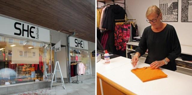 Bristande lönsamhet gjorde att She Fashion i Sandviken tvingades slå igen.
