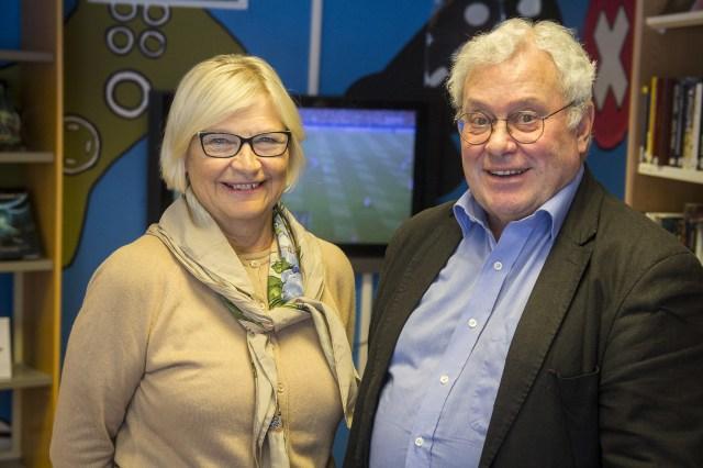 Maija Berndtson och Mats Öström.