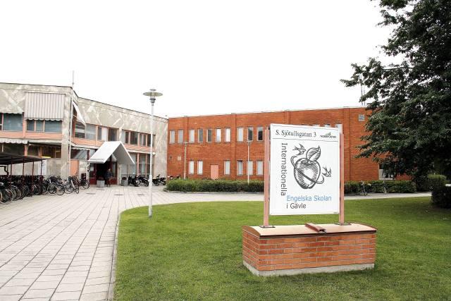 Engelska skolans högstadium på Brynäs. Bild: Joanna Wågström