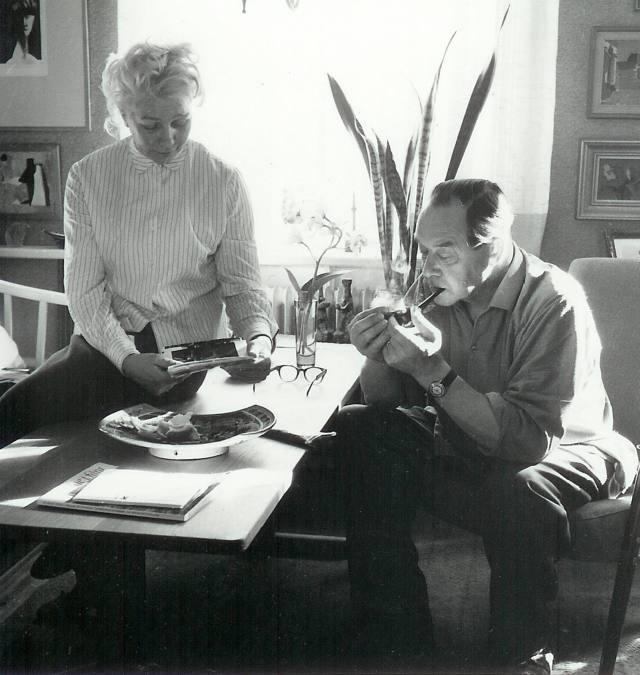 Johnny Mattsson, med hustrun Sonja.