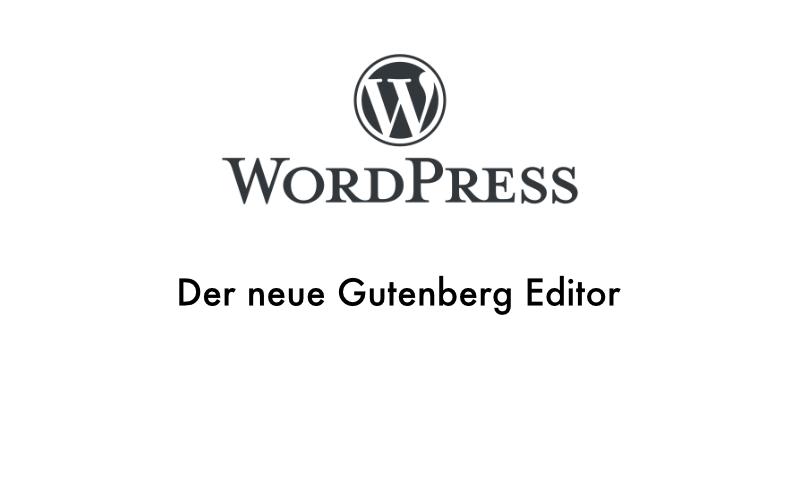 Beitragsbild für den Blogpost Gutenberg WordPress