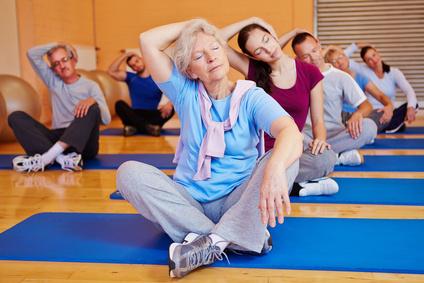 Pilates lässt sich in jedem Alter erlernen. © Robert Kneschke - Fotolia.com