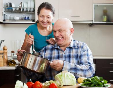 Kochen macht gemeinsam noch mehr Spaß...