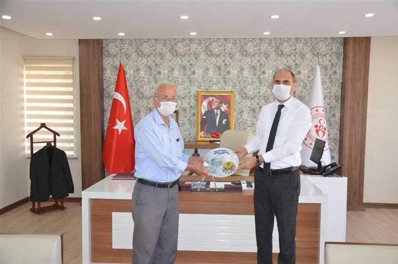 Bilecik Edebali Kültür ve Araştırma Derneğini Başkanı Durmuş'tan İl Müdürü Özdemir'e ziyaret