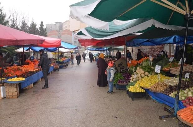 Köylü pazarının günü değişti