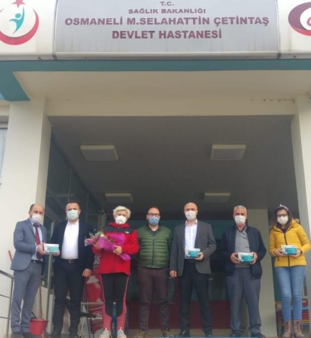 İYİ Parti İlçe teşkilatından hastaneye cihaz bağışı