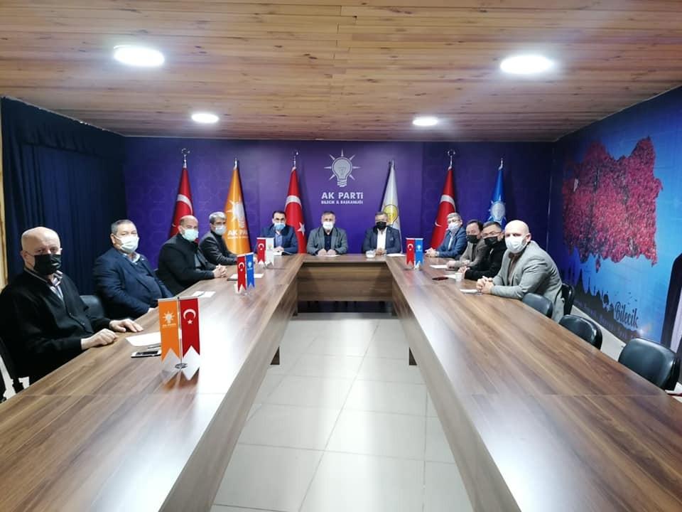 AK Parti İlçe Başkanları İstişare Toplantısı yapıldı