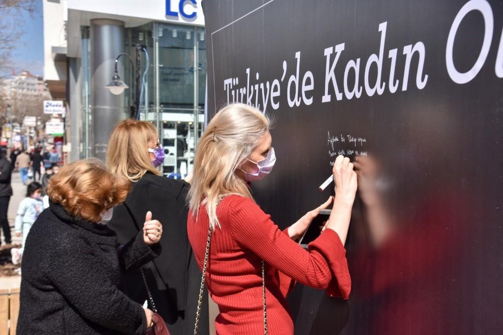 Bilecik'te kadınlar, Türkiye'de kadın olmayı anlattı