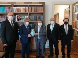 Başkan Şahin'in Ankara temasları