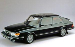 En tidlig Saab 900 Turbo