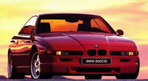 BMW 850 CSi, Biler i Blodet