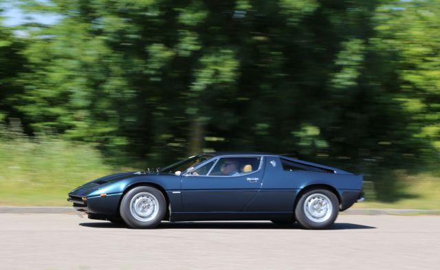 Maserati Merak - en fantastisk køremaskine!