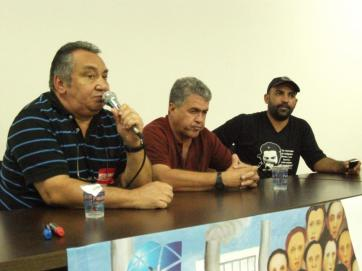 Antônio de Marco Rasteiro, Sinval José Ramos and André Henrique Alves
