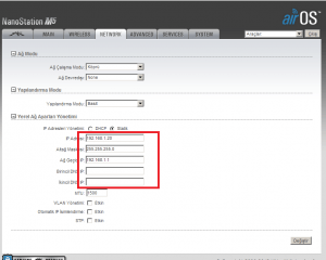 AP MODE NETWORK