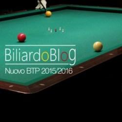 Il Nuovo Campionato Italiano di Biliardo