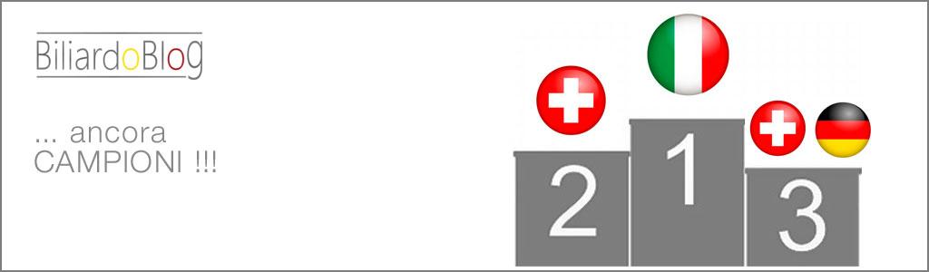 Campionato Europeo a Squadre di Biliardo 2016