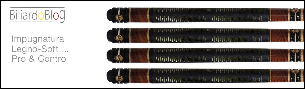 Stecca da Biliardo con Impugnatura in Legno Soft