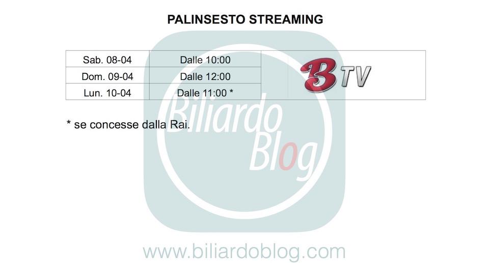 Quarta Tappa BTP di Biliardo 2017: palinsestobetItaly