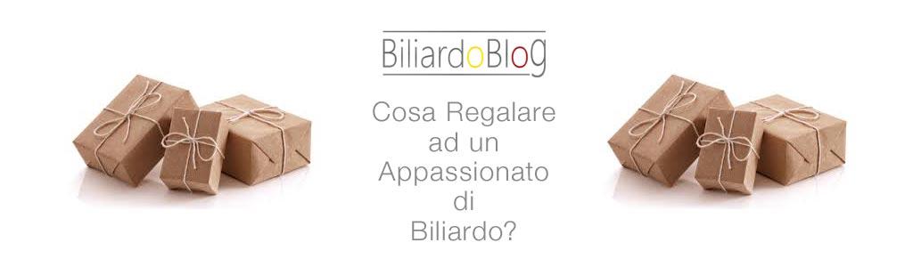 Cosa regalare ad un appassionato di Biliardo?