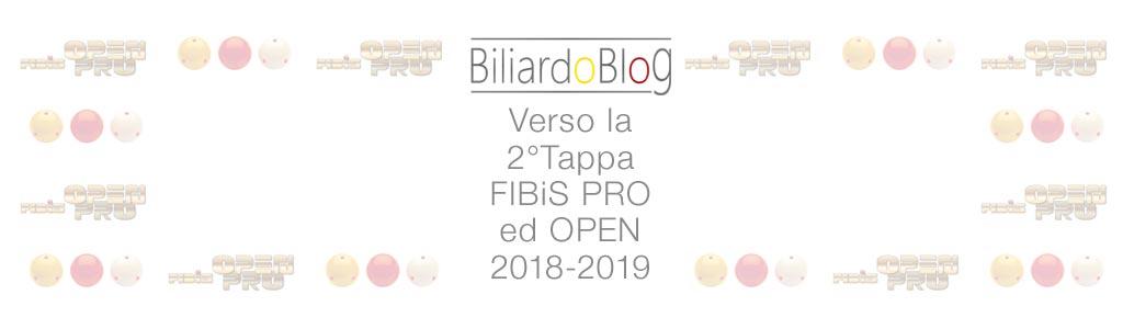 Verso la Seconda Tappa Campionato Biliardo 2018 2019