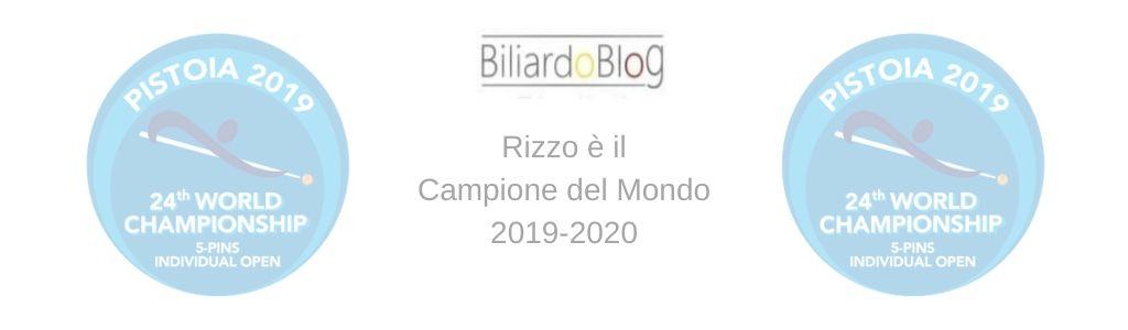 Campione del Mondo di Biliardo 2019 2020