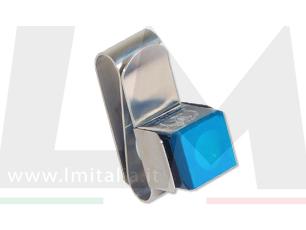 Porta gessi magnetico acciaio per biliardo