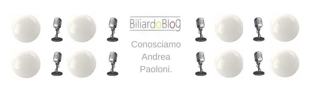 Intervista ad Andrea Paolon