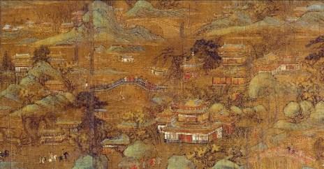 """Li Sışün'ün yapıtı """"Saray Bahçesi"""""""