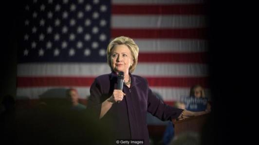 BLACKWOOD, NJ - MAY 11: Democratic presidential candidate Hillary Clinton speaks at a campaign event at Camden County College on May 11, 2016 in Blackwood, New Jersey. Residents of New Jersey will vote in the Democratic primary on June 7, 2016. (Photo by Jessica Kourkounis/Getty Images)