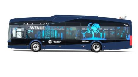 """TEMSA ve ASELSAN tarafından ortak üretimi yapılacak olan ve ilk yüzde 100 milli elektrikli otobüs olarak tanıtılan """"AvenueEV"""" bugün görücüye çıktı."""