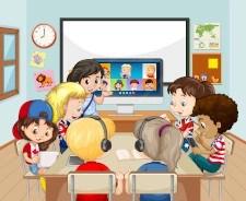 clases híbridas en bilingual brain