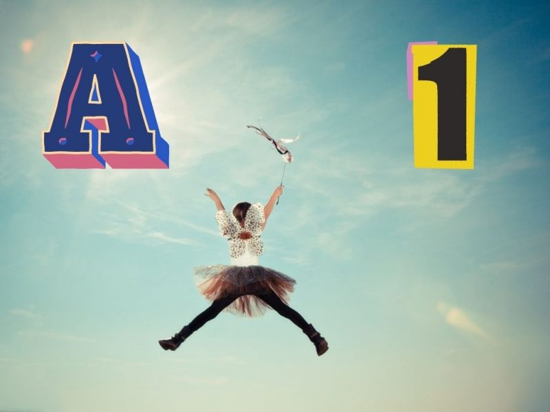 A1 Girl jumping