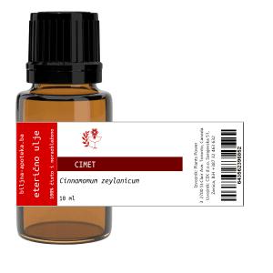 Flašica eteričnog ulja cimeta