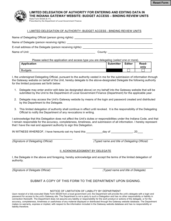 Indiana Bill Of Sale 55714 Bill Of Sale Form