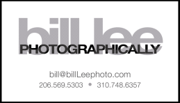 Bill Lee Photo businesscard