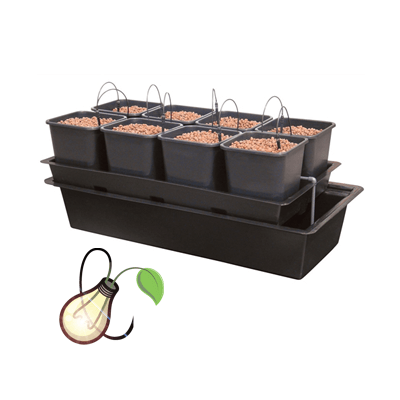 Atami Wilma Wide 10 Pot System