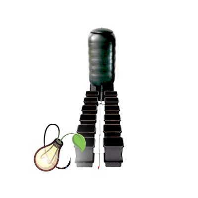 AutoPot easy2grow 12 Pot System with 100L Tank