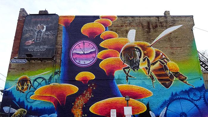 bee-mural