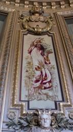 Tapestries in the Garnier