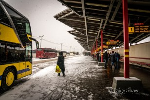 Bus Station in Riga