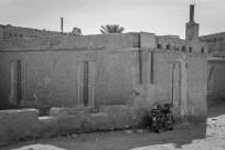 mud-house-motorcycle-giza-egypt