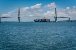 ravenel-bridge-container-ship