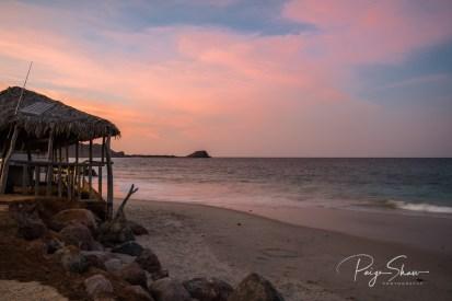 baja-sea-cortez-beach-sunset-palapa